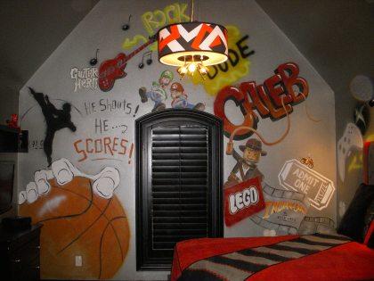 Caleb's grafitti