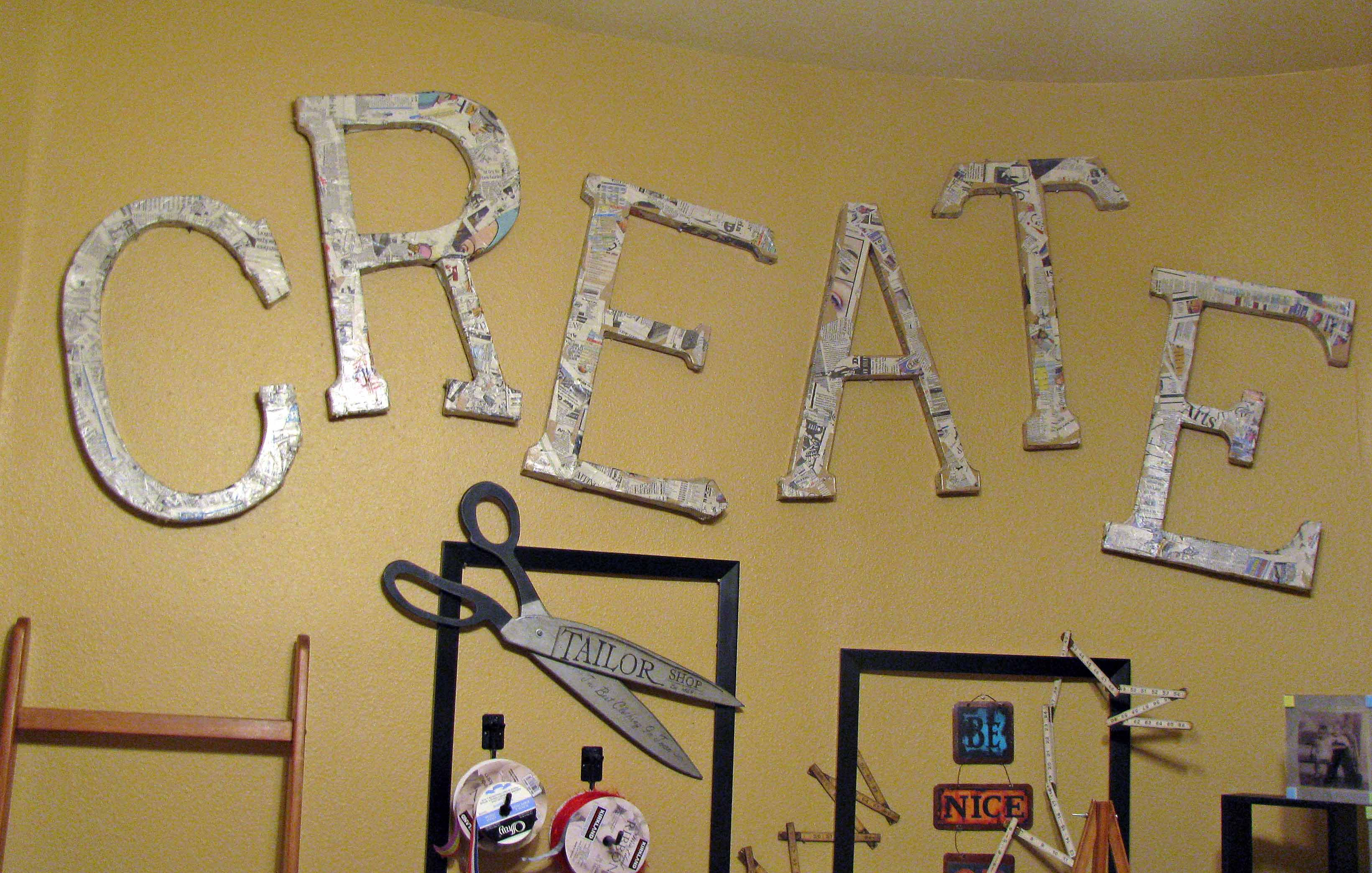 Wall Decor Craft Room : Moved permanently